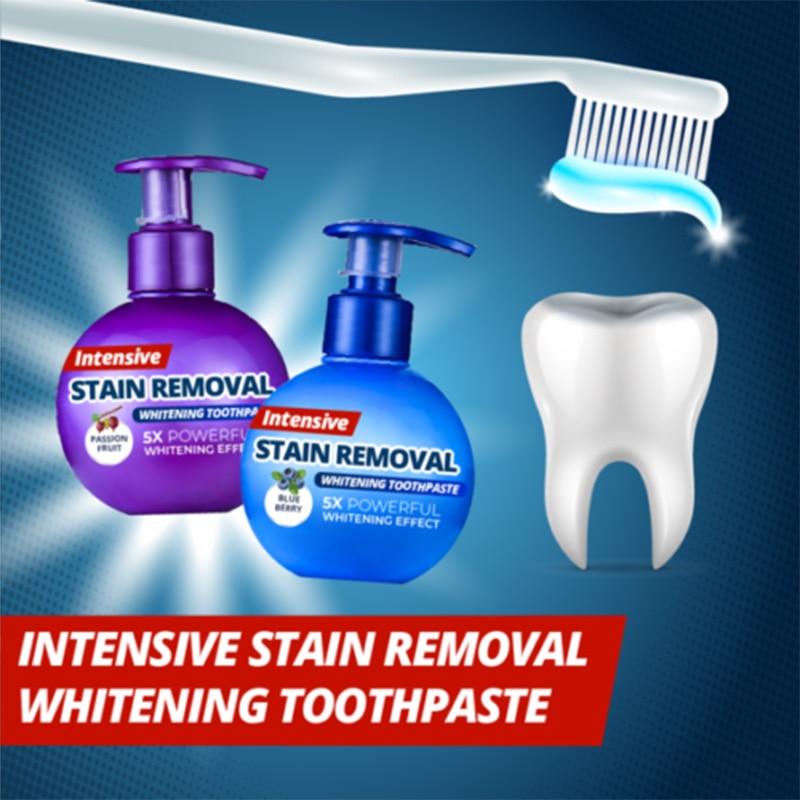 Zubní pasta s intenzivním bělícím účinkem